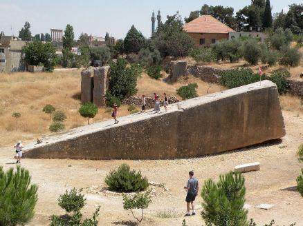 Bekaa-Valley-11-Baalbek-Stone-of-the-Pregnant-Woman-Roman-Monolith-At-the-South-Entrance