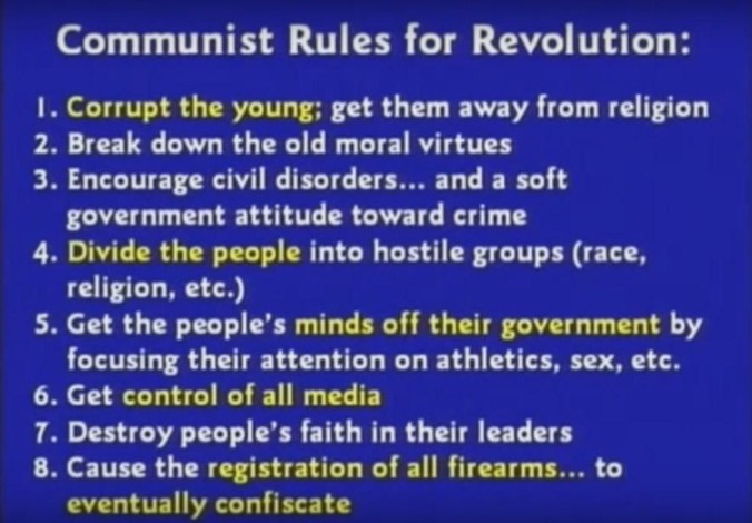 Communist Rules for Revolution