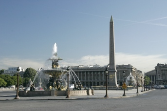Place-de-la-concorde Paris Obelisk... from luxor