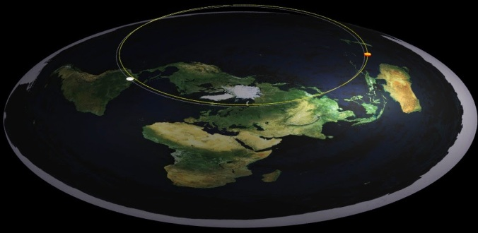Image result for flat earth dome