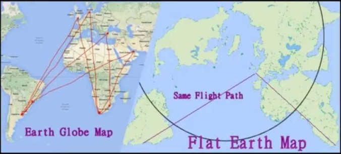 22 another brick in the wall part 22 the narrow gate flat earth map maxresdefault flight routes and fake flight listings gumiabroncs Gallery