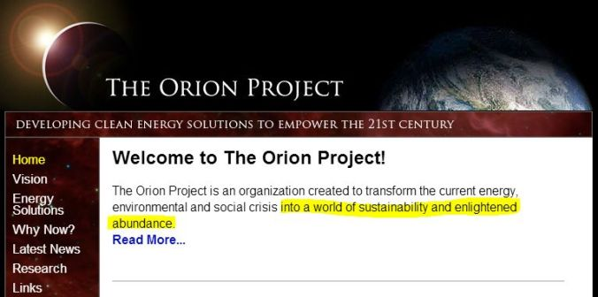 sirius-orion-project