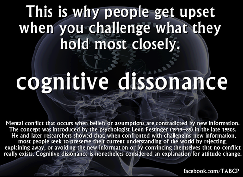 cognitive-dissonance