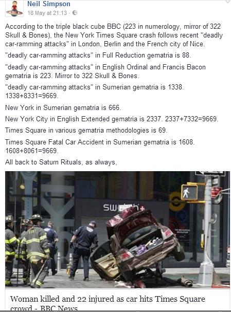 NY times crash