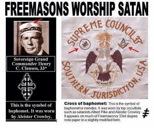 freemason satan